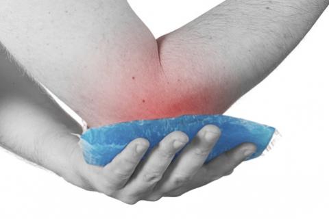 Resultado de imagen para codo inflamado y con dolor